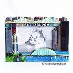 Pittsburgh 4x6 Colored Frame
