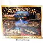 Pittsburgh Photo Collage 500pc Puzzle