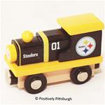 Pittsburgh Steelers Wooden Toy Train