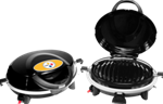 Pittsburgh Steelers Round Tailgate Grill