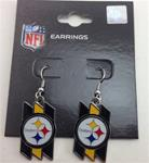 Pittsburgh Steelers Fence With Logo Earrings